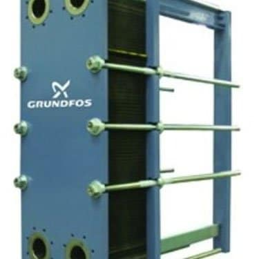Grundfos Plate and Frame Heat Exchanger Photo