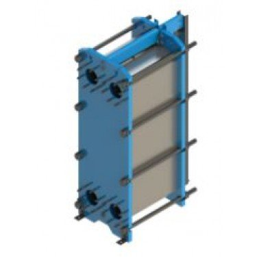 Wessels Plate and Frame Heat Exchanger Photo