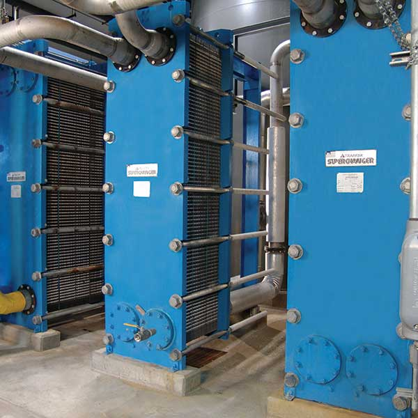 Tranter Plate and Frame Heat Exchanger